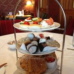 Afternoon tea at Knightsbrook