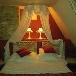 La chambre : plein de charme ...