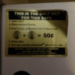 Pay per use in-room safe