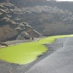 Lanzarote lago verde