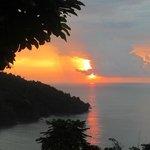 One of many sunsets from Mot Mot
