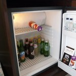fridge / mini bar - needs defrosting