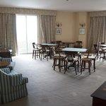 function room / billiard room