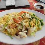 seafood noodles- delicious