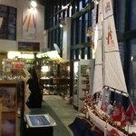 Inside Derry Visitor Centre