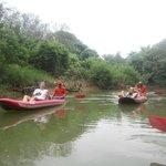 bajada por el rio en Khao Sok