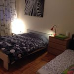 Zebra Room with double bed and a sofa to relax :)