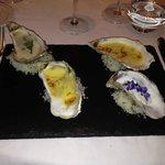 Entrée d'huîtres