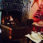 Breakfast fireside