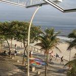 Aussicht auf Strand von Ipanema