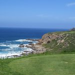 The sea from the Tee