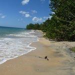 plage à deux pas de la résidence