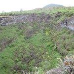 Cavidad volcánica Los Gemelos