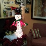 Frosty the Snowman at Reception