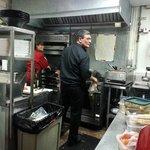 """Eric, en la """"cucina"""""""