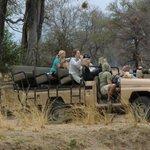 Terrein wagen van Track & Trail Lodge