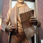 Museum of the Republic - Statue of Stephen F Austin
