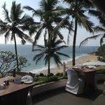 Aussicht vom Café Samsara