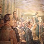 Museum of the Republic - Painting of the Signing of the Declaration of Independence