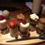 pudding taster pots !!!! Mmmm