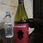 Their own Valletta red wine. Mild and you will love it