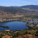 Osoyoos - This is the lake 2 minutes from Nk'mip.  Hottest summer weather in BC.