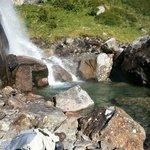 Ett av många vattenfall