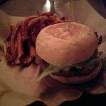 The Greek (Lamburger) & Reg Fries
