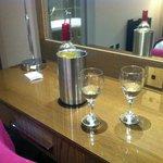 Wine on arrival