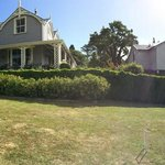Panorama of the grounds, we brought a croquet set with us