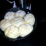 Iron Skillet Biscuits - So soft and delicious!