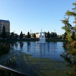 hotel's lake
