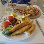 Fish and Chips and Pizza