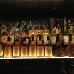 selection of whisky...