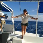 en el catamaran