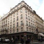 Exterior of Hotel Duo, Paris