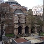 The marvelous Aya Sophia,from my room.