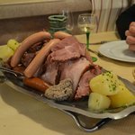 Choucroute pour 4 pers.