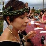 Palm Frond headband