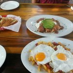 Las Iguanas Breakfast - So Good!