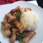 This pork dish was devine