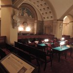 The Supreme Court Gallery Clock
