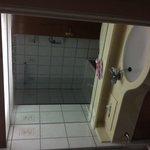 Old fashioned bathroom, room 214