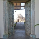The view as you enter GSC through the main lodge door (from a christian monestary in India)