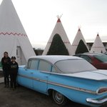 Classic Cars Outside Teepees