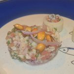 Seafood ceviche