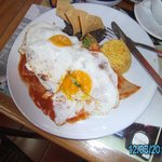 Chilaquiles and Eggs!
