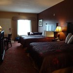 Room 421, room for a desk AND a table (think breakfast!)