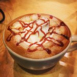 Caramel Latte (with house made caramel)