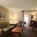 Embassy Suites Santa Ana Suite Parlor